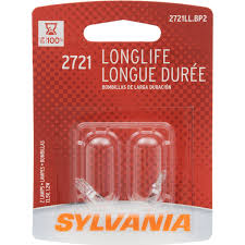 amazon com sylvania 2721 long life miniature bulb contains 2