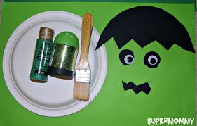 frankenstein halloween easy kid u0027s craft