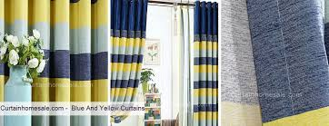 Blue And Yellow Shower Curtains Navy And Yellow Curtains Curtains Ideas