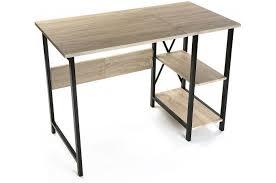 bureau design industriel bureau pliable industriel bois et métal moneva bureau pas cher