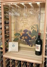 Under Cabinet Wine Racks Kitchen Best Under Cabinet Wine Glass Rack Design Hanging Wine