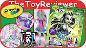 disney u0027s frozen crayola color alive action coloring pages unboxing