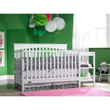 4 In 1 Crib With Changing Table Graco Woodbridge 4 In 1 Crib U0026 Changer Combo White Walmart Com