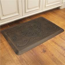 kitchen rustic home accessory design of dark brown rectangular