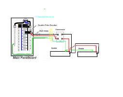 double pole breaker wiring diagram dolgular com