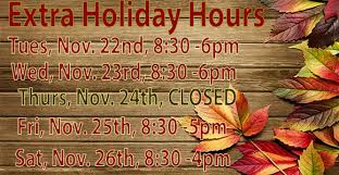thanksgiving hours country farmer s market