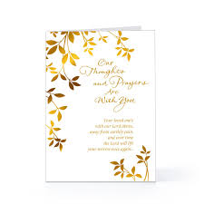 condolences greeting card 75000 stocks a condolence note loss of one can to the