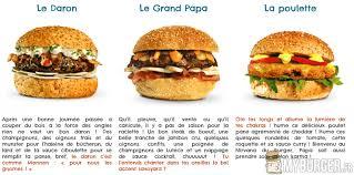jeux de cuisine de papa burger les burgers de papa fr les enseignes