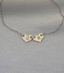monogram bracelet silver personalized heart bracelet initial heart bracelet silver