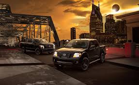 nissan frontier vs titan the nissan midnight edition family welcomes the 2018 frontier