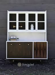 mid century modern hutch redesign u2013 tuesday u0027s treasures u2013 funcycled
