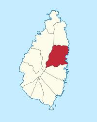 Saint Lucia Map Dennery Quarter Wikipedia