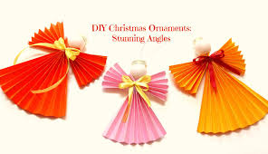 make these stunning angels diy christmas ornaments