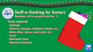 stuff a stocking for seniors is here amherstburg community services