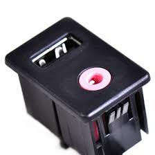 nissan sentra usb port car audio dash flush mount usb port 3 5mm aux extension cable w