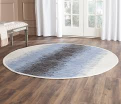 Ikea Cotton Rugs Flooring Decorative Kaleen Rugs With Round Ikea Ottoman And