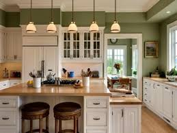 Chalk Paint Ideas Kitchen by Light Green Painted Kitchen Cabinets Color Scheme U Pictures Paint