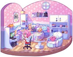video commission gaming room by hyanna natsu on deviantart