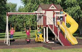 Swings For Backyard How Backyard Playsets Add Value To Your Home Swing Kingdom