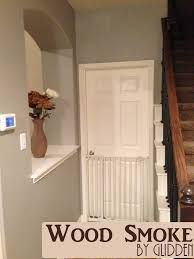 Hallway Paint Ideas by Hall Repainting In Glidden Autumn Haze Diy Home Pinterest