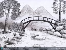 photos how to sketch scenery drawing art gallery