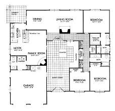 Courtyard House Floor Plans 18 Best House Plans Images On Pinterest Architecture Courtyard