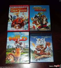 lot kids movie dvd blu ray disney wild yogi bear