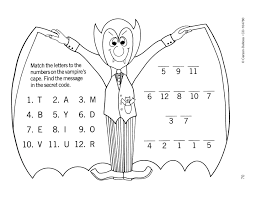 dracula secret code click through for more free ideas and