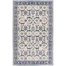 Blue And Grey Area Rug Bungalow Rose Area Rugs Birch Lane