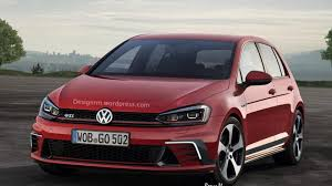 volkswagen golf gti 2014 volkswagen golf and golf gti facelift rendered ahead of late 2016