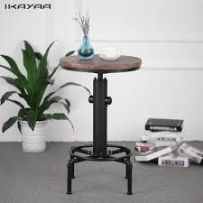 Height Adjustable Desks Uk by Ikayaa Pinewood Top Round Pub Font B Bar B Font Font B Table B Font Font Jpg