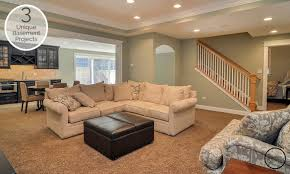 Finish Stairs To Basement by 3 Unique Basement Finishing Projects You Will Love Home