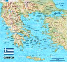 Map Greece by Map Of Greece Map In The Atlas Of The World World Atlas