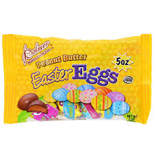 peanut butter eggs for easter bulk palmer peanut butter easter eggs 5 oz bags at dollartree