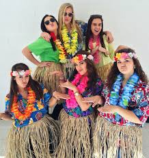 tropical day spiritweek costume hawaiian my pins pinterest