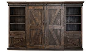 Wall Unit Collins Barnwood Wall Unit Home Zone Furniture Entertainment