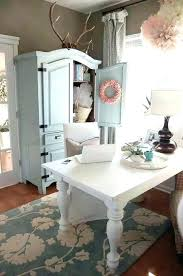 chic office decor shabby chic office furniture interesting shabby chic office desk