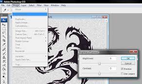 imagen blanco y negro en illustrator como vectorizar un logotipo con illustrator miguel manchego