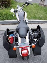 2006 harley davidson sportster saddlebags installation baggers