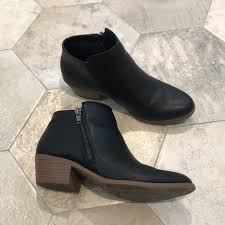 s boots payless 77 eagle by payless shoes black faux leather ankle