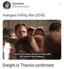 Samantha Meme - samantha avengers infinity war 2018 there s too many people on this