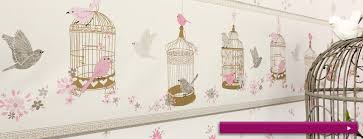 frise chambre b b gar on papier peint chambre fille idées décoration intérieure farik us
