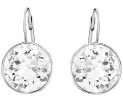 pierced earrings pierced earrings white rhodium plating jewelry