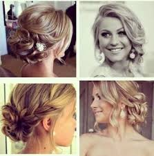 prom hair front and back fashion dresses