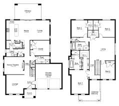 two bedroom townhouse floor plan kurmond homes new home builders sydney glenleigh 39 5 display