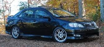 toyota corolla s 2005 for sale toyota alabama com archive used car toyota corolla with