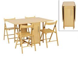 table cuisine 4 chaises agréable table cuisine gain de place 4 ensemble modulable table 4