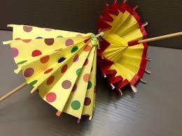 How To Make Paper Umbrellas - daily origami 183 umbrella