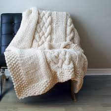 Cable Knit Rug Best Chunky Cable Knit Blanket Products On Wanelo