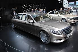 mercedes maybach 2016 mercedes maybach pullman debuts at the 2015 geneva motor show